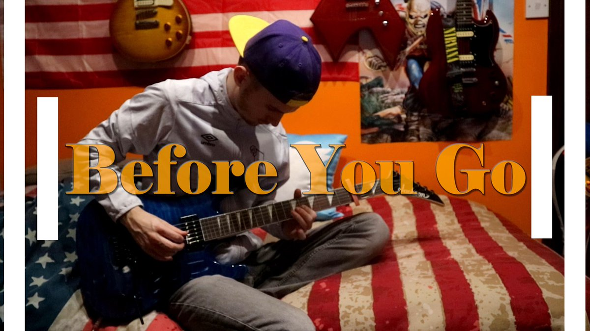 Before You Go - @LewisCapaldi Electric Guitar Cover  Full Cover - https://youtu.be/Sr7mFo3Xahk   #lewiscapaldi #beforeyougo #electricguitar #cover #popular #guitarsolo #guitarcovers #followers #followtrain #follow #youtubemusic #youtuber #youtube #songcovers #musicians #derbypic.twitter.com/3o0mdcyOX9