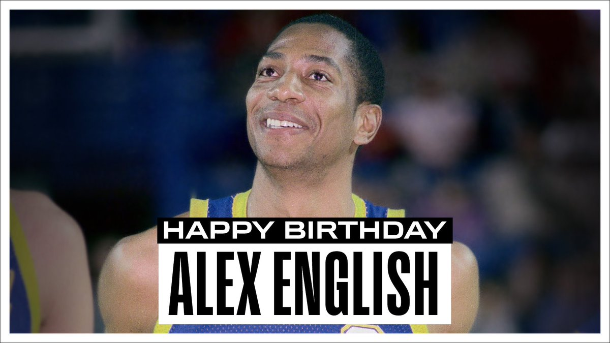 Join us in wishing a Happy 66th Birthday to 8x #NBAAllStar, @Hoophall inductee & @nuggets all-time leading scorer, @AlexEnglish_2. #NBABDAY