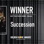 Congratulations to Succession - Best Television Series - Drama. - #GoldenGlobes