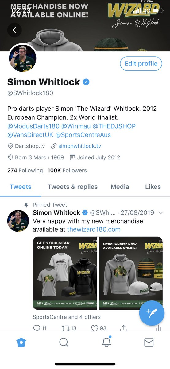 Simon Whitlock @SWhitlock180