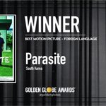 Parasite (South Korea) - Best Motion Picture - Foreign Language. Photo by Alexi Lubomirski (@alexilubomirski). #GoldenGlobes