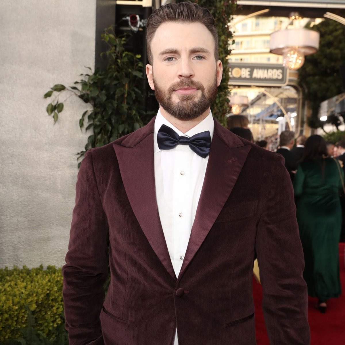 Christopher Robert Evans isn't here to play