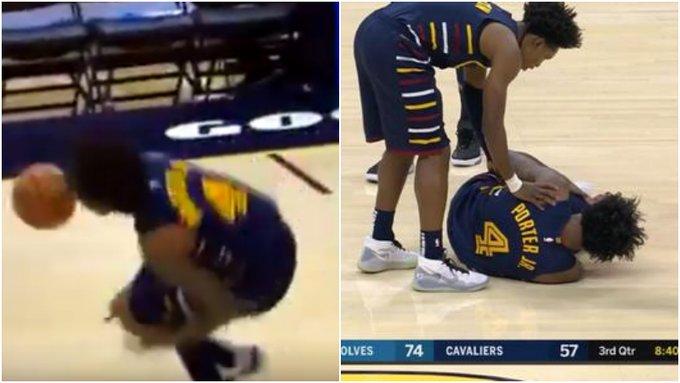 【影片】繼愛神事件後再遭打擊!騎士小將左腿無對抗受傷,被隊友攙扶離場!