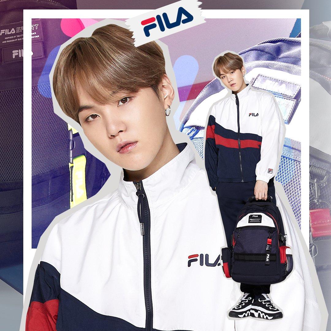 BTS SUGA Jadi Brand Ambassador FILA Global