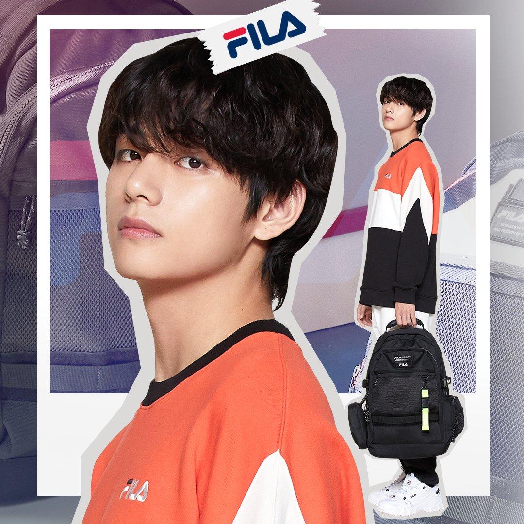 BTS V Jadi Brand Ambassador FILA Global