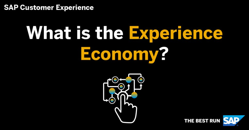 We hear the term a lot, but what exactly is the Experience Economy?  Learn about the major role customer experience plays: http://sap.to/60131nCfD  @SAP_CX
