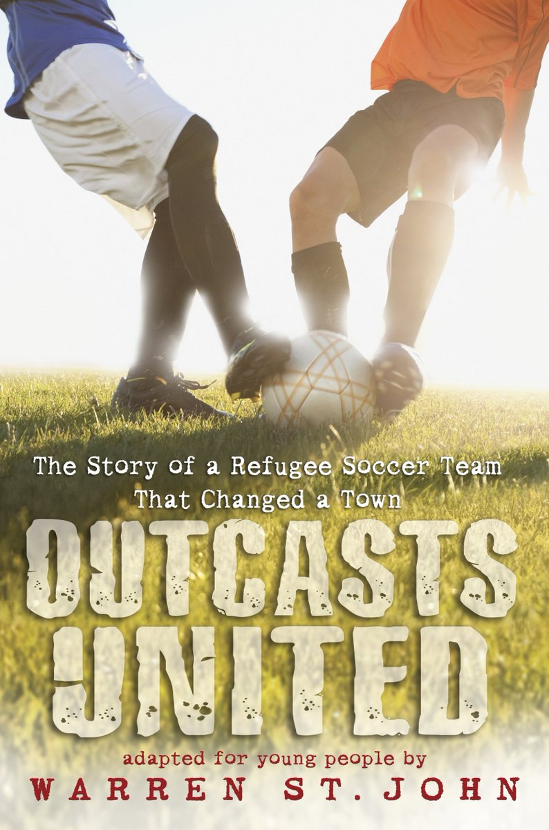 Outcasts United: The Story of a Refugee Soccer Team That Changed a Town (Hardcover) by Warren St. John – NEW! Available Now to Order at Amazon Here: https://amzn.to/33YRYh5 via @amazonpic.twitter.com/fvP4B2hWJm