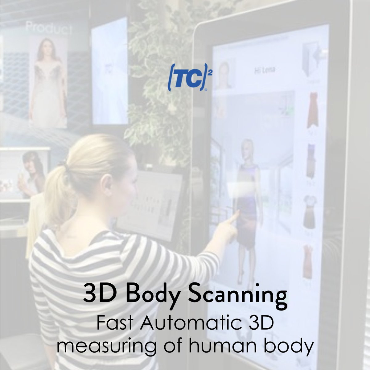 Body scanning and measuring now made not only easy but also more accurate and fast. Know More >>    #EasySetUp #SelfScan #MobileScanner #3DTechnology #Fashion #Research #Reality #3DServices #3DScanners #Tc2 #TcSquared #USA #LatestTechnology #3dPrints #US