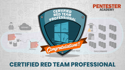 Pentester Academy On Twitter Congratulations To Eln1x For Clearing Our Certified Red Team Professional Exam Adlab Crtp Cc Nikhil Mitt Https T Co W14cl399uo Https T Co Qmqbzok4df