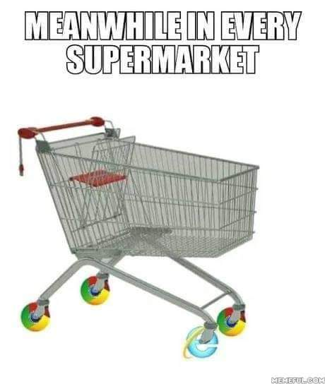 There is nothing more frustrating than a trolley with a wonky wheel, except perhaps a slow browser. We are too busy focusing on #innovation to leave room for frustration which is why our students have access to the latest #technology. Want to know more? https://bit.ly/2ONtxOjpic.twitter.com/JkVLqsA0L6