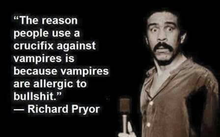 Remember that time that vampire developed an allergy and we were saved?  #vampire #crucifix #religion #atheism #flatearth
