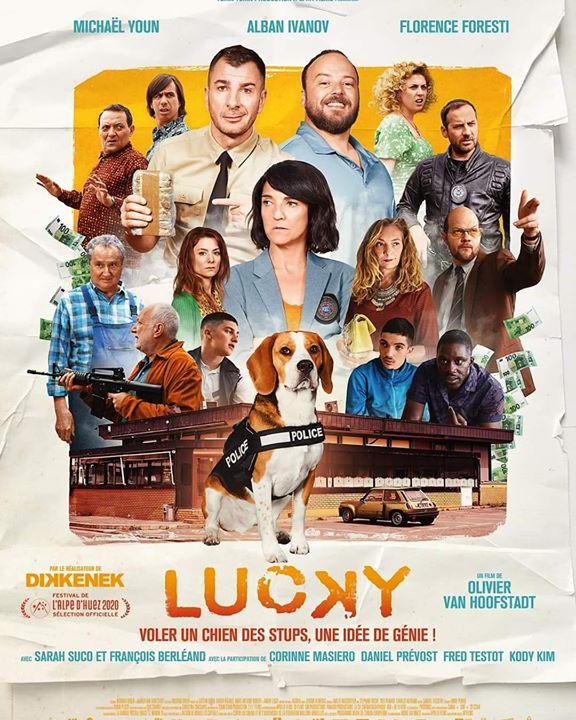 Sortie le 26.02.20 ! Le rendez-vous est pris!  #LuckyLeFilm by #oliviervanhoofstadt  @AlbanIvanov @forestifr @sarahsuco #francoisberleand  @FredTestot @danielprevost @DavidBoring @ArseneMosca @corinnemasiero pic.twitter.com/LQBt0eY70h