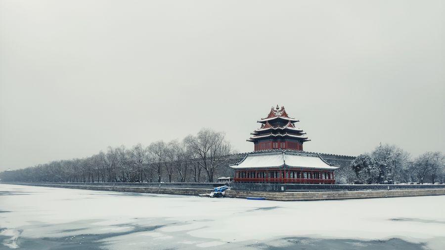 Forbidden City #Beijing #China 🇨🇳❄️