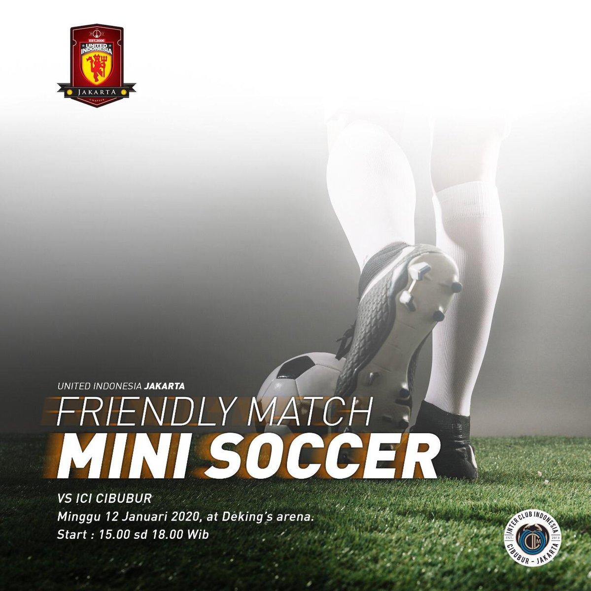 Yuk yg mau ikut merasakan sparing fun mini soccer! Merapat ke Dkingz Arena hari Minggu tanggal 12 Januari nanti, jam 15.00 yah! See you!  #UIJKT https://t.co/6Wbth0U3mf