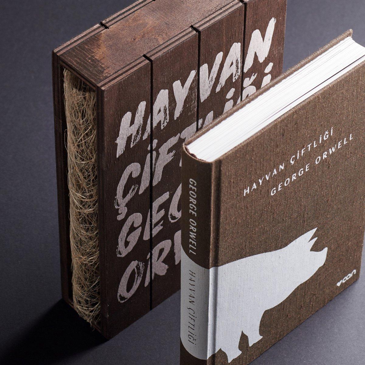 George Orwell'in modern zaman fablı Hayvan Çiftliği, koleksiyonerler için hazırlanan bu özel baskısıylaEzgi Kitabevi'nde...  #ezgikitabevi #ezgi #kitabevi #bursa #nilüfer #kristalark #podyumpark #altınoluk #hayvançiftliği #georgeorwell #canyayınları