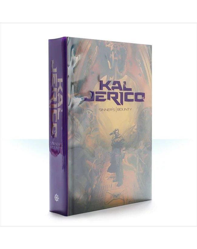 Necromunda Kal Jerico /& Scabs GWS DS136 NIB Metal