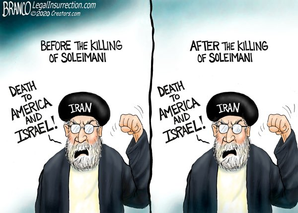 Image result for branco cartoons big media and Image result for branco cartoons big media and iranian terrorist quds force general Soleimani