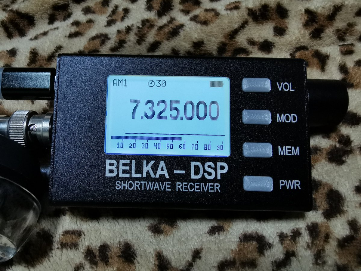 Belka DSP Receiver 思っていたより良いぞ! 大きさは、クレジットカードより一回り小さい