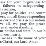 Image for the Tweet beginning: As we continue to pray