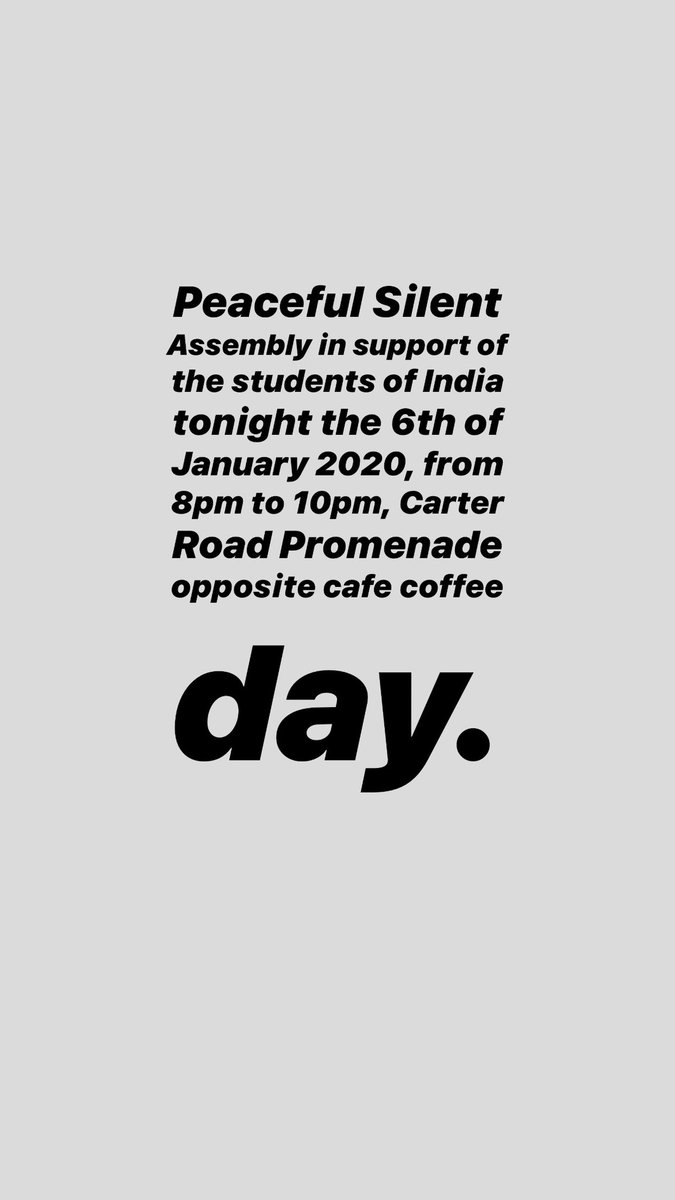 Stand by students and teachers of India 🙏🏻