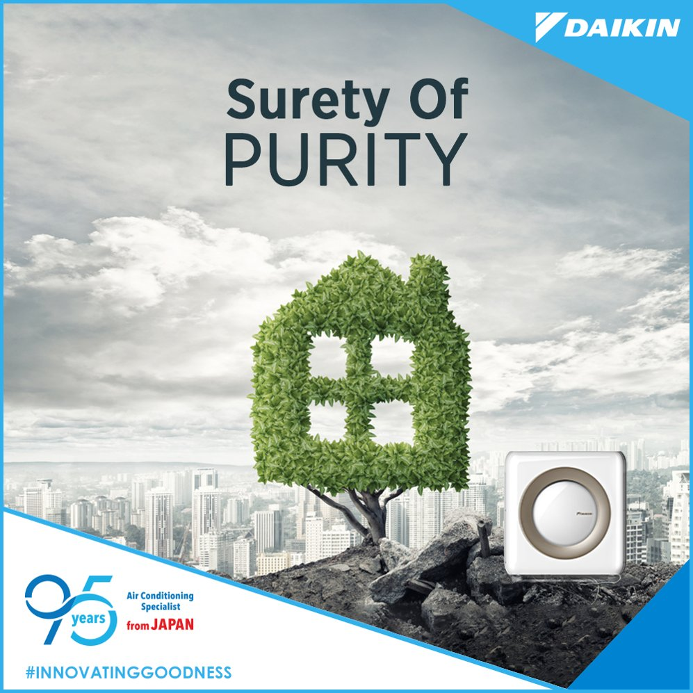 Its time to create your personal green zone with a Daikin air purifier at home. InnovatingGoodness https t.co TYt1jgdCiY