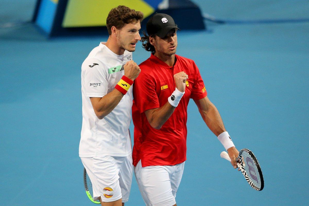 ATP Cup. Испания - Уругвай 3:0. Группа В. Второй раунд