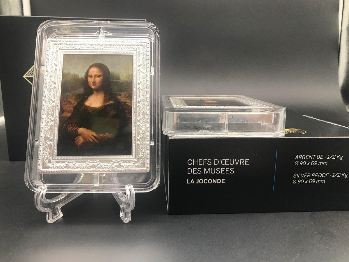 Coin House Hong Kong Coin Co Limited On Twitter Mona Lisa Gioconda 1 2 Kg Kilo Silver Coin 250 France 2019 Et322 Vip Qq Com
