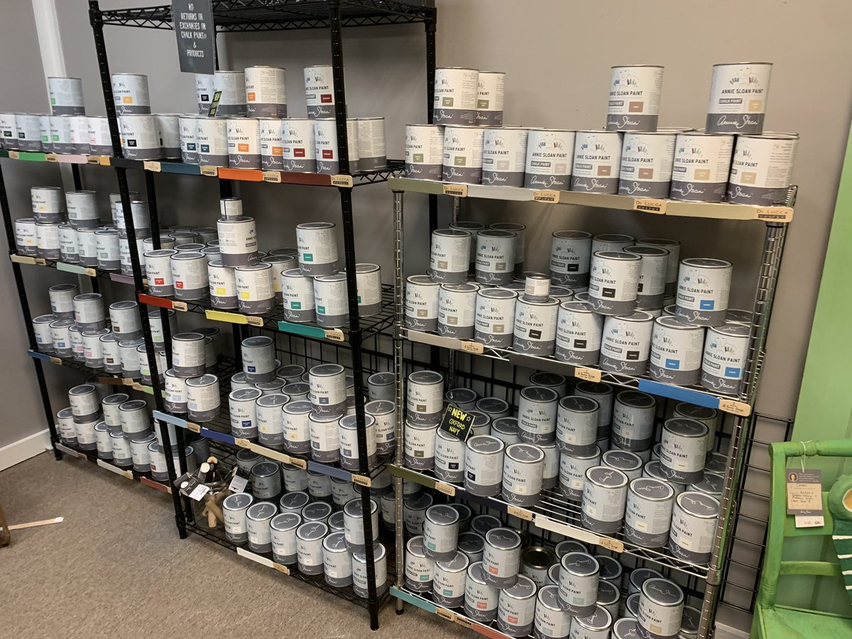 WE CARRY THE FULL LINE  Shop Di Lucca Design. All methods of payment accepted. 630-505-1463 #anniesloanchalkpaint #stocklist #chalkpaintedfurniture #coverseverything #highlyrecommended @diluccachicago @anniesloanchalkpaintpic.twitter.com/gGgrCmh8tZ – At Affordable Antiques