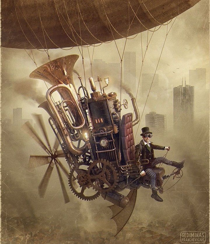 My Daily #Steampunk ⚙️ #Geek 🤓 #Space 🚀 #SamaCollection 🗞️ of Tweets with @DandyYour @SETIInstitute ⭐ Feat. @authorshipme View More Selections 👉 https://t.co/iLWqTUZNn7