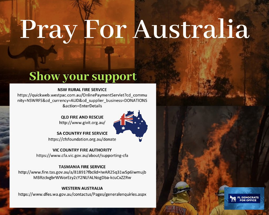 Let's help our friends from Australia as they are currently going through a difficult time. #AustralianBushfire