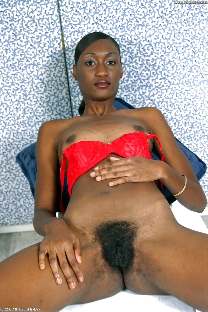 Tiny hairy black women