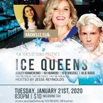 Come see the #IceQueens at @yukyuksottawa! Join me on Jan 21 as I host (star in) this fun night of stand-up #comedy featuring 5 of the sassiest & iciest female comics I know, with the most chilling of them all headlining the show, @rashelie! The cold never bothered us anyway. 🖤