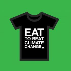 Eat to Beat Climate Change is about getting more people to choose veggie and vegan food. This is the single biggest thing anyone can do to help prevent climate change ...Get involved   #EatToBeatClimateChange #NewYearsResolution #meatfreemonday