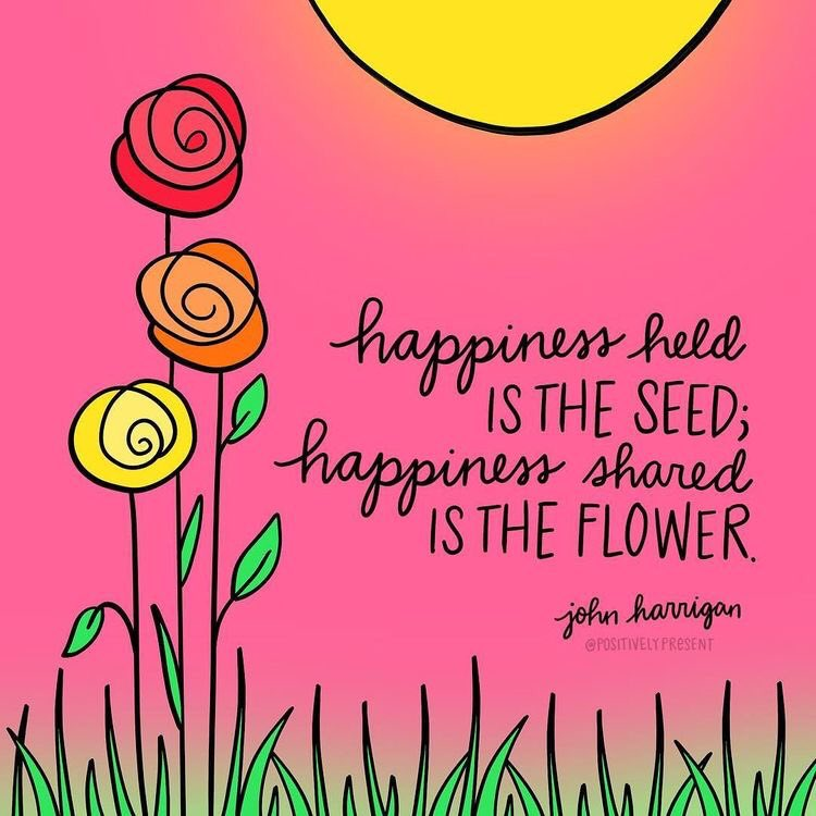 Let's plant and share some happiness today! ☀️❤️☀️❤️☀️❤️