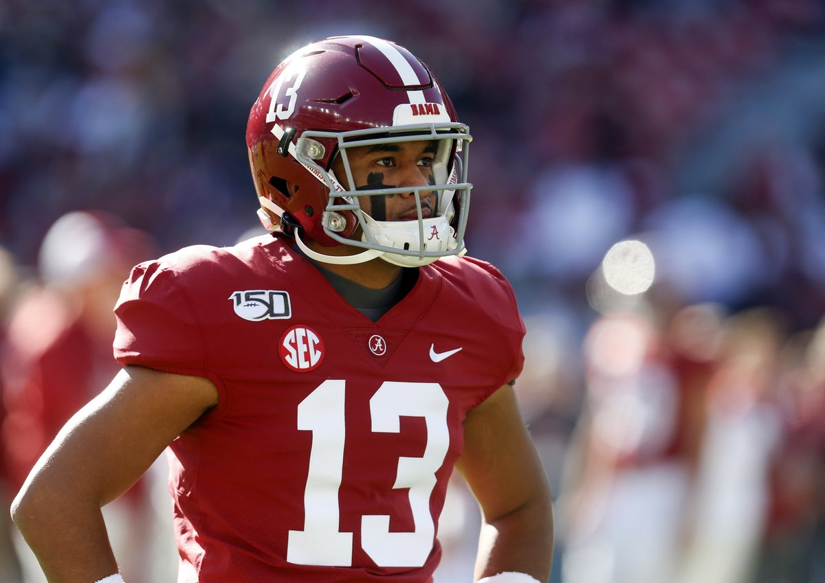 Tua Tagovailoa will be drafted by the ___________.