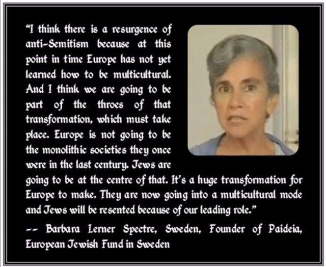 """Miss Sororiasis on Twitter: """"Do you think they should be multicultural?  Send there to the Lerner Specter, this is what you have done to DESTROY  EUROPE. #IsraelOpenBorders #StopRacismIsrael… https://t.co/2Qb9kKJVdL"""""""