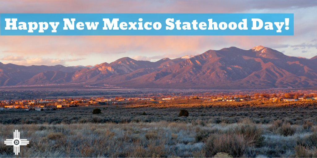 Happy 108th Birthday to the Land of Enchantment! We're proud to work every day to serve our state and create a New Mexico for all! #NMTrue #nmpol<br>http://pic.twitter.com/4qOMgLijFi
