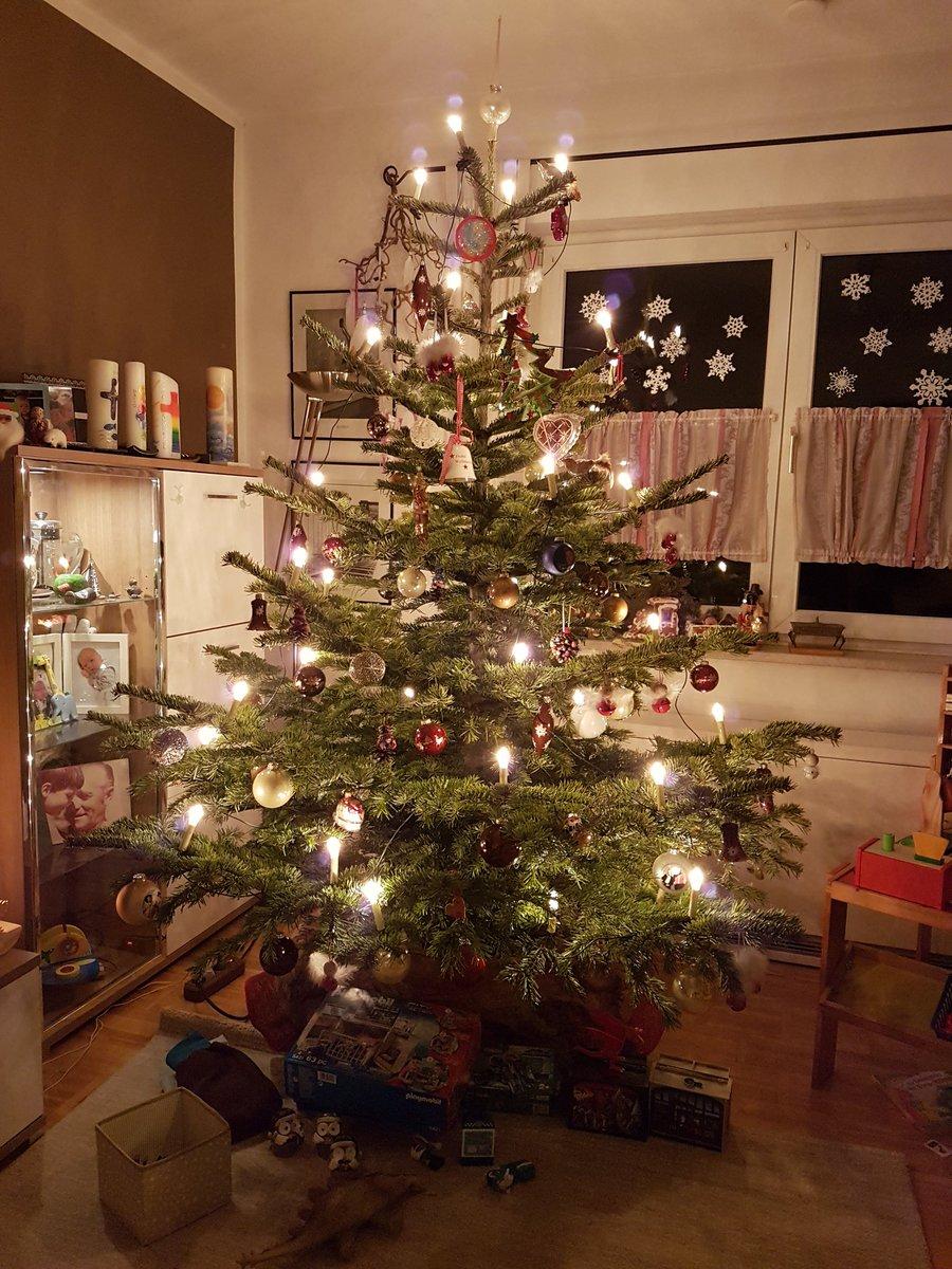 Er nadelt nicht und lässt auch nicht die Äste hängen, also lass ich ihn noch etwas stehen #christbaum #weihnachten2019 #heiligdreikönigepic.twitter.com/iCepUvL594