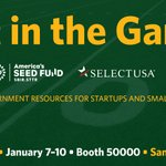 Image for the Tweet beginning: Joining @CES this week? #GetInTheGame
