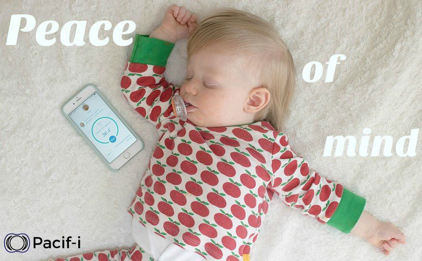 When you have a #poorlybaby the #Pacifi helps you monitor temperature with ease & comfort.