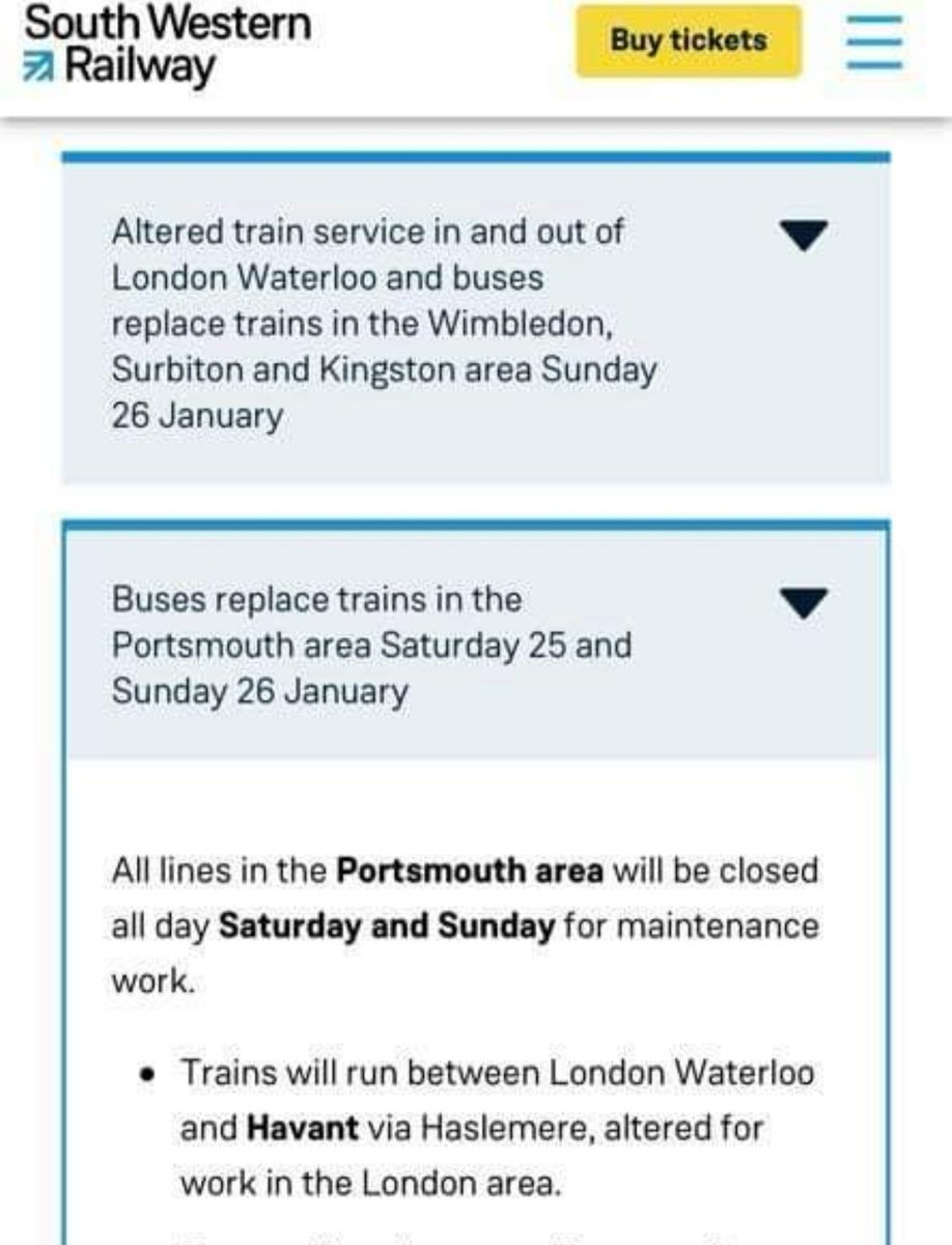 Trains look tricky for Pompey .... Gutted not to get Liverpool . https://t.co/U2qQntamFl