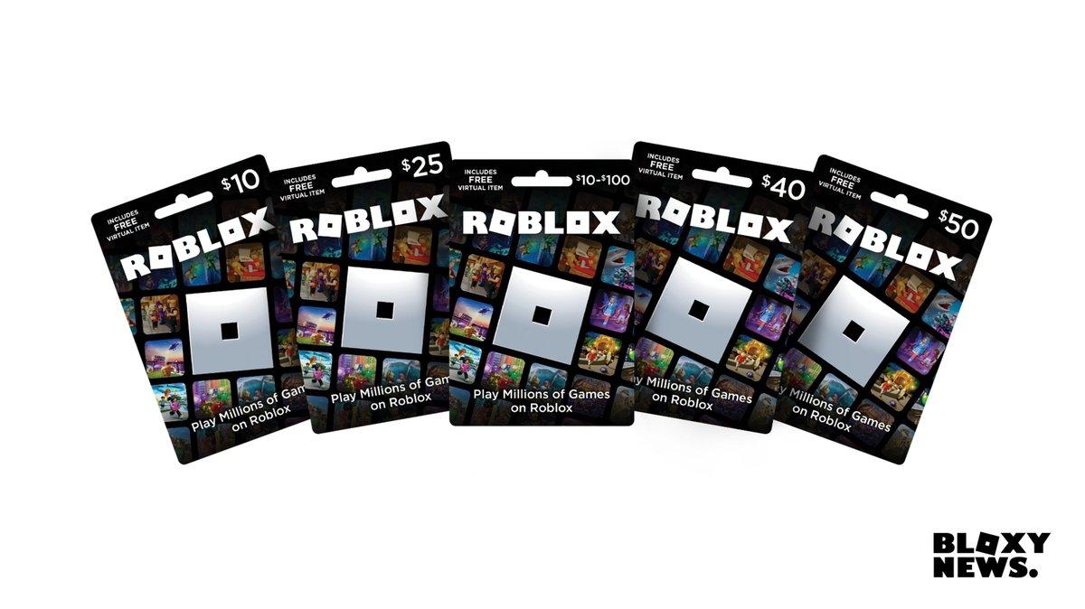 Roblox Virtual Gift Card