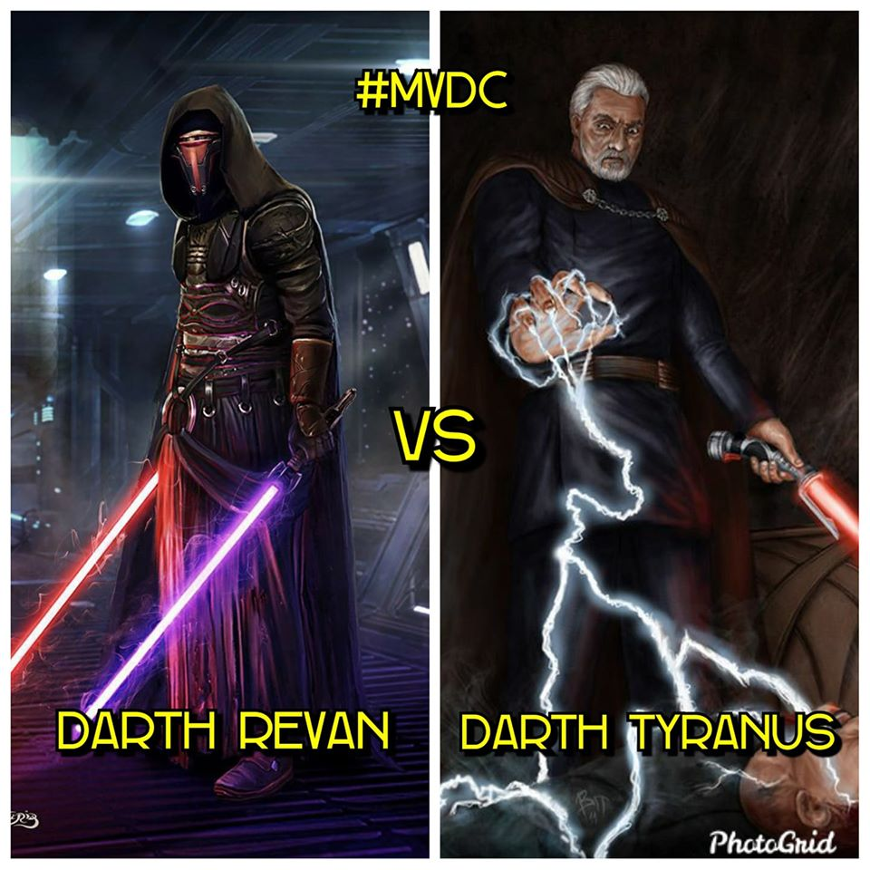 Emperor Krayt Reborn vs. Darth Caedus vs. Revan the Resurrected vs. Darth Tyranus vs. Lord Emperor Exar Kun ENoUy6iWoAMgTlk