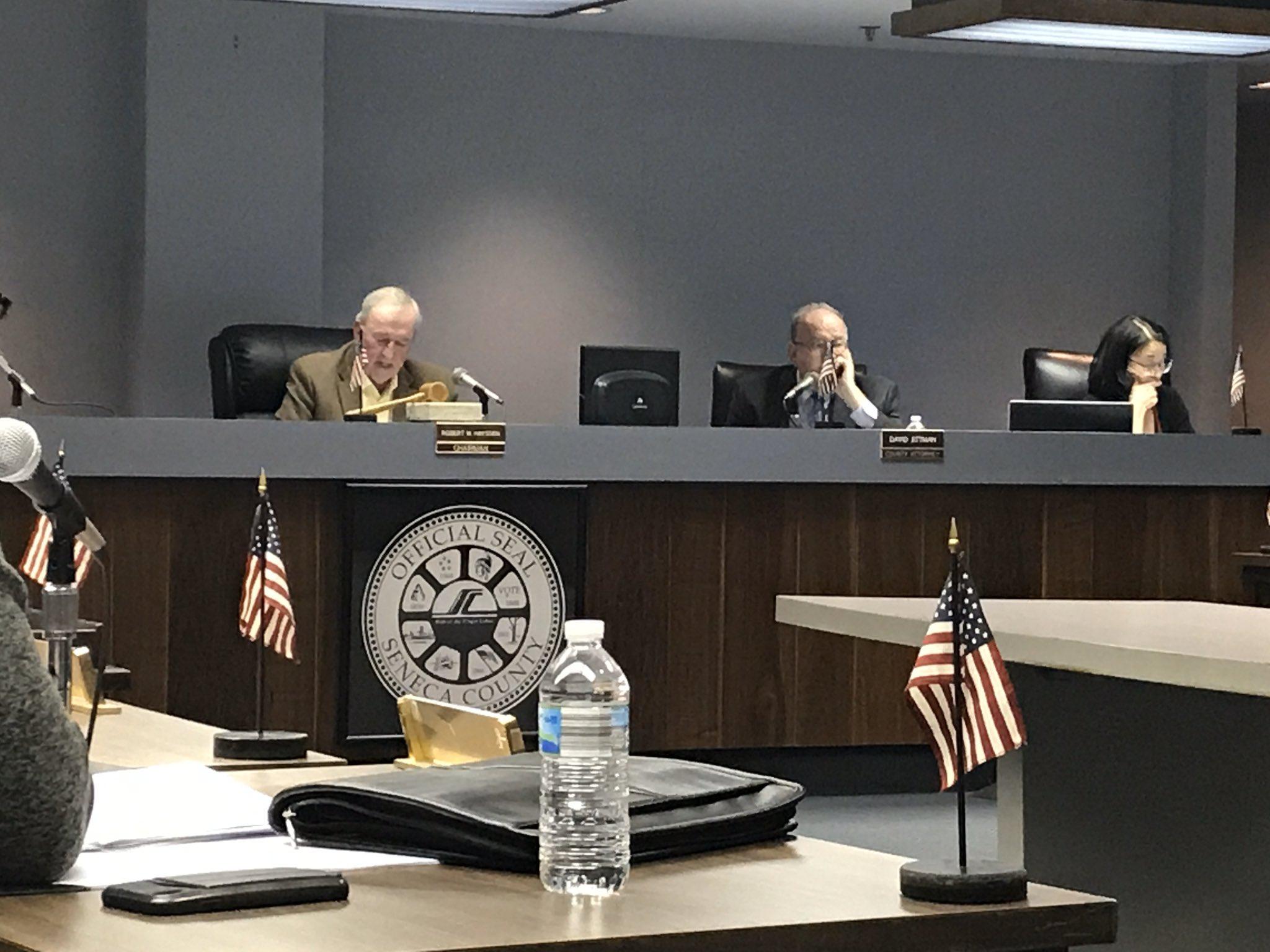 Bob Hayssen will lead Seneca County Board of Supervisors in 2020