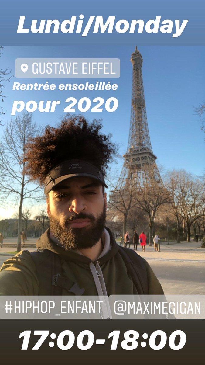 [HIPHOP ENFANT]•Tous les lundis à 17h à l'école GustaveEiffel📍•Chorégraphe:@maximegigan🕺🏻#maximegigan #hiphop #enfant #cours #class #dance #danse #work #fun #danceclass #maximegiganchoreography #man #beard #curlyhair #backtoschool #2020NewYear #paris #gustaveeiffel #toureiffel