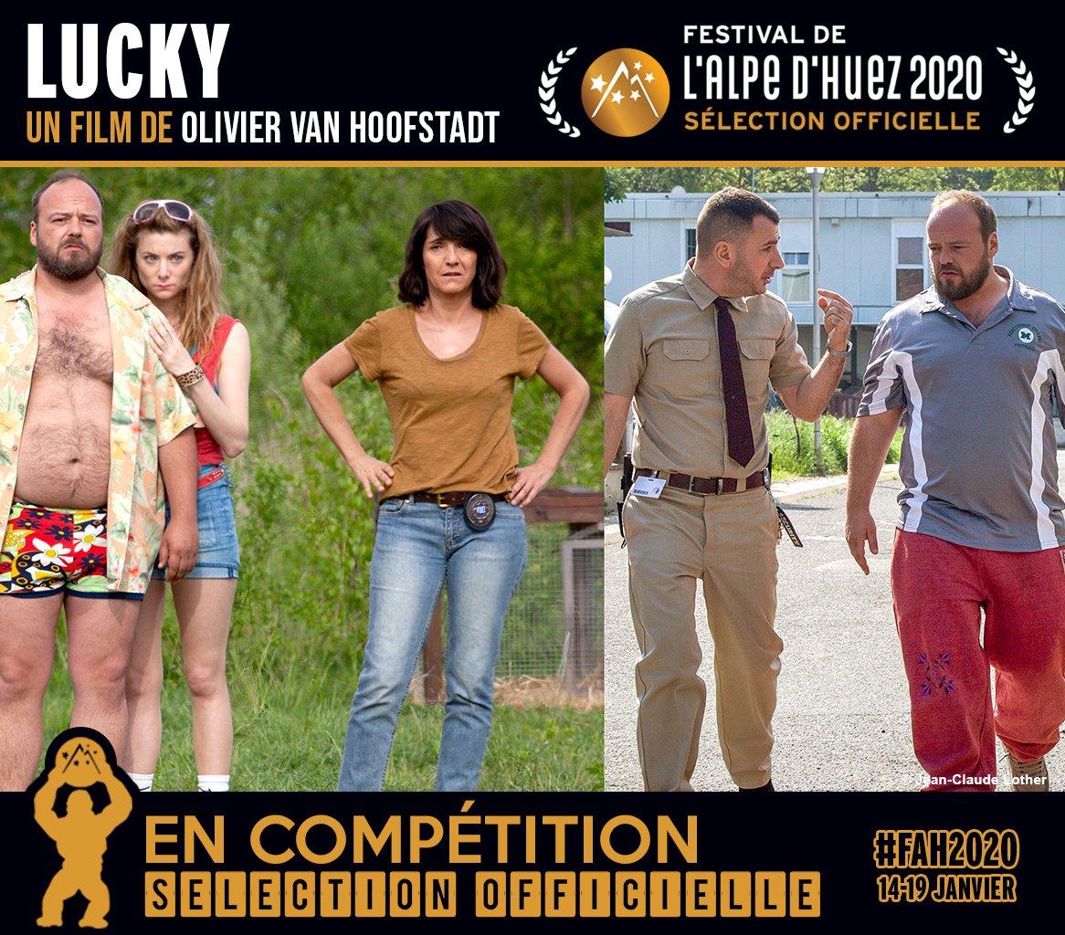 Lucky est sélectionné par le Festival de l'Alpe d'Huez et sera en compétition mi-janvier! #LuckyLeFilm d'#OlivierVanHoofstadt avec #FlorenceForesti @AlbanIvanov @MichaelYoun #SarahSuco #CorinneMasiero, #FrançoisBerléand, et moi!    @Apollo_Distrib #FAH2020pic.twitter.com/pLfH3jpnW7