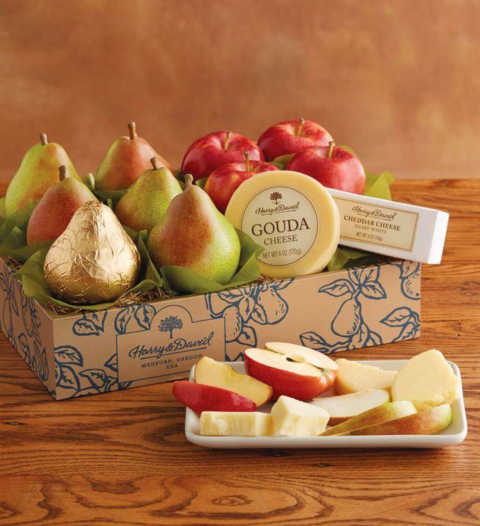 Classic Pears, Apples, and Cheese Gift by Harry & David is now available in our shop for only $56.99. Buy it now
