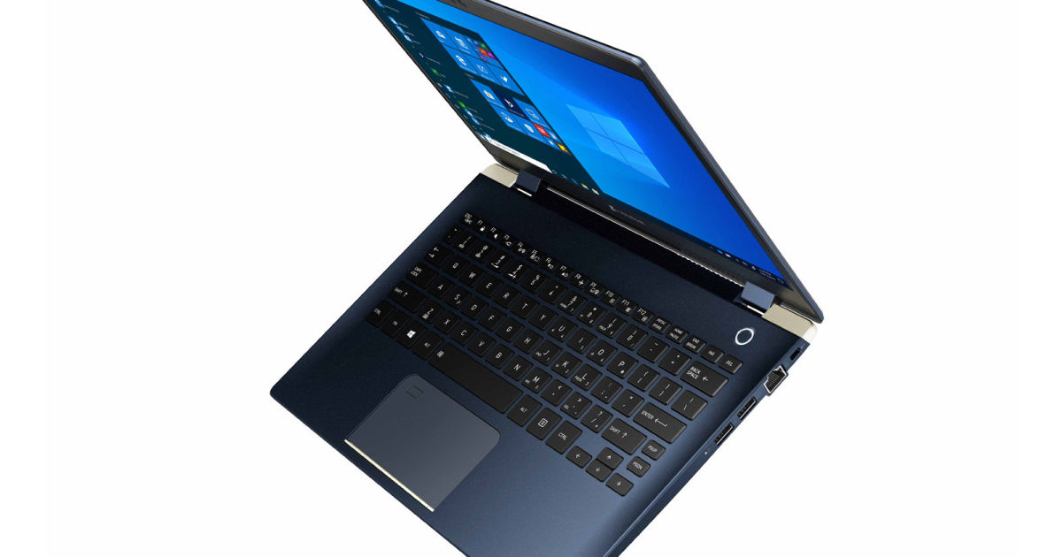 Toshiba's latest Dynabook is one of the lightest 13-inch laptops yet