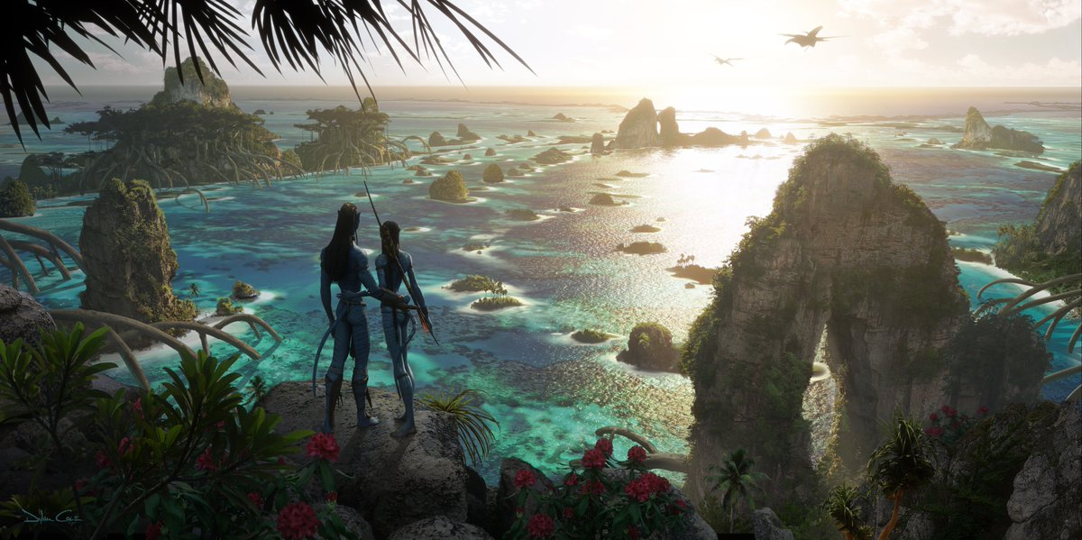 In the #Avatar sequels, you won't just return to Pandora — you'll explore new parts of the world.  Check out these brand new concept art pieces for a sneak peek at what's to come. https://t.co/bfZPWVa7XZ