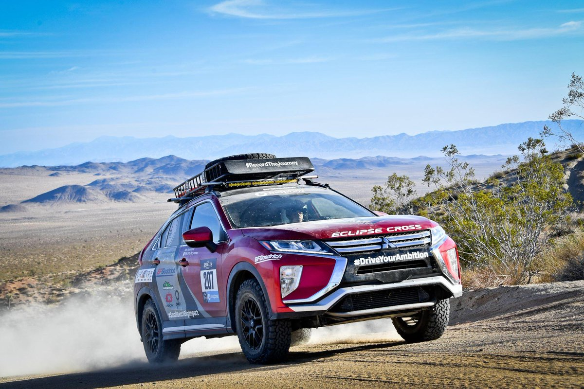 We're proud to have supported @kindofaquad in this year's @rebellerally with our #EclipseCross